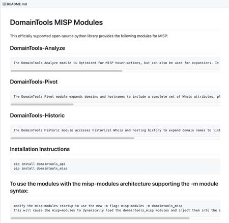 MISP Integration   Uncover Threat Actor Infrastructure   DomainTools